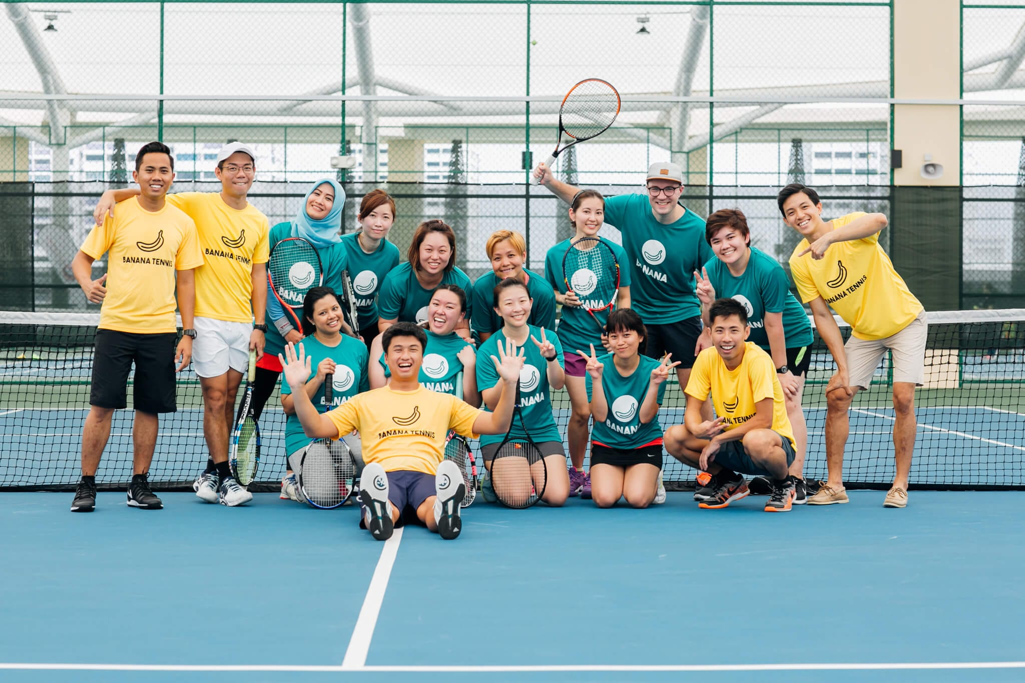 Tennis Lessons At Heartbeat Bedok Indoor Tennis Courts